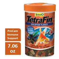 Tetra TetraFin Goldfish Flakes with ProCare, Goldfish Food, 7.06 oz