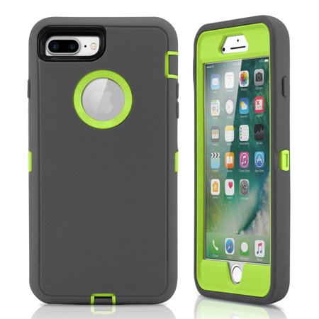 For iPhone 7 Plus Case Rugged Shockproof Hard Case Protective Cover
