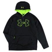 new product 6e91b 536e2 Under Armour Mens Storm Armour Fleece Big Logo Hoodie Black