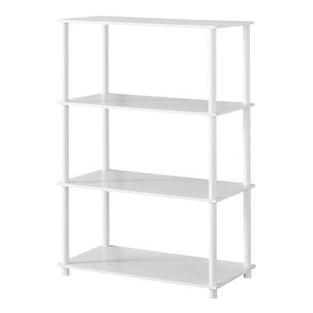 - Mainstays No Tools 6 Cube Standard Storage Bookshelf, Multiple Colors