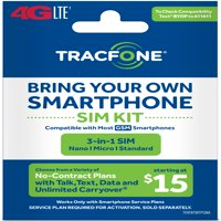 Tracfone Bring Your Own Phone SIM Kit - T-Mobile GSM Compatible