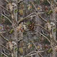 "David Textiles Cotton 36"" x 44"" True Timber Kanati Camo Fabric, 1 Each"