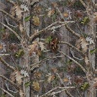 "David Textiles True Timber Kanati Camo Cotton Fabric By The Yard 44"" Wide"