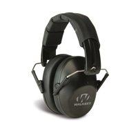 WALKERS GAME EAR PRO LOW PROFILE FOLDING MUFF EARMUFF 31 DB BLACK