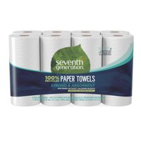 Seventh Generation Paper Towels, 100% Recycled Paper, Full Sheet, 8 Jumbo Rolls