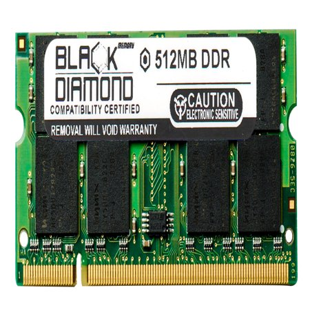 512MB Memory RAM for HP Presario Laptop M2207AP, M2210ap, M2211AP, M2212AP, M2213AP 200pin PC2700 333MHz DDR SO-DIMM Black Diamond Memory Module - Pc 2700 Ddr Sodimm Laptop