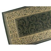 American Mills Entwined Black Indoor Outdoor Area Rug d846a5e04
