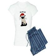 CafePress - Siamese Santa Claws - Women's Light Pajamas