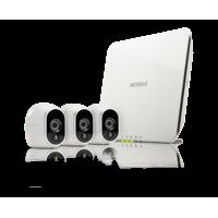 Arlo Security Camera System - 3 Wire-Free HD Camera, Indoor/Outdoor, Night Vision (VMS3330)
