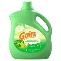 Gain Liquid Fabric Softener, Original, 129 fl oz 150 loads