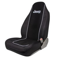 Plasticolor Jeep Text Embroidered Seat Cover
