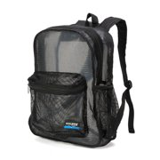 Mesh Backpack Heavy Duty Student Net Bookbag Quality Simple Netting School  Bag Security See Through Daypack 229d7204c7296