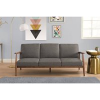 Better Homes and Gardens Flynn Mid Century Futon, Multiple Colors