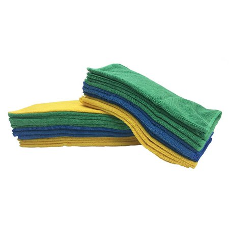 Viking Microfiber Auto Cleaning Cloth, 12 Pack Towels