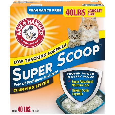 Arm & Hammer Super Scoop Clumping Litter, Fragrance Free (Best Arm & Hammer Home Furnaces)