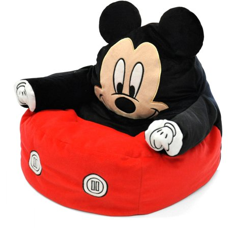 Mickey Mouse Character Figural Toddler Bean Chair - Mickey Mouse Room Ideas