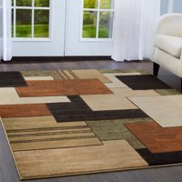 Home Dynamix Tribeca Collection Geometric Area Rug for Modern Home Decor