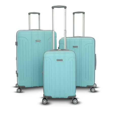 - Viva Collection 3 Piece Hardside Spinner Luggage Set