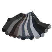 James Fiallo Men's 12 Pair Pack Cotton Wool Rugby Boot Socks