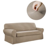 Mainstays Stretch Pixel 2 Piece Sofa Furniture Cover Slipcover