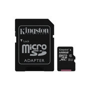 128GB microSDHC Canvas Select 80R CL10 UHS-I Card + SD Adapter