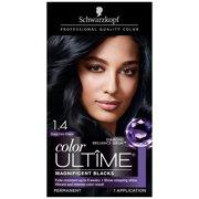Schwarzkopf Color Ultime Permanent Hair Color Cream, 3.3 Amethyst Black