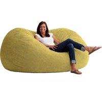 Big Joe XL 6' Fuf Bean Bag Chair, Multiple Colors/Fabrics