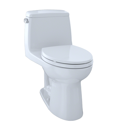 TOTO® Eco UltraMax® One-Piece Elongated 1.28 GPF Toilet, Cotton White - (Carusoe Two Piece Toilet)