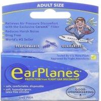 EarPlanes Ear Plugs 1 Pair (Pack of 6)