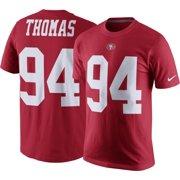 5d3b9b945 Nike Men s San Francisco 49ers Solomon Thomas  94 Pride Red T-Shirt