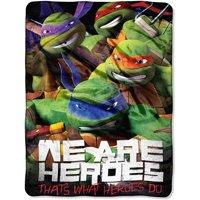 "Nickelodeon Teenage Mutant Ninja Turtles ""Totally Epic"" 46"" x 60"" Micro Raschel Throw"