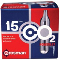 Deals on 15CT Crosman 12 gram CO2 Powerlet Cartridges C2315