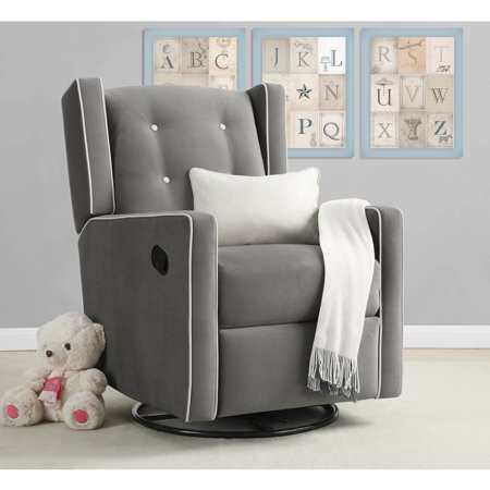 Dutailier Reclining Glider (Baby Relax Mikayla Swivel Gliding Recliner, Choose Your Color )