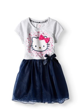 Short Sleeve Tutu Dress (Little Girls)