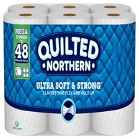Quilted Northern Ultra Soft & Strong Toilet Paper, 12 Mega Rolls