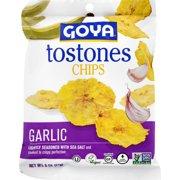 Goya Tostones Chips Garlic