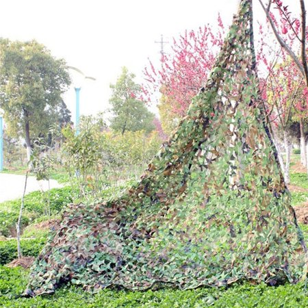 Woodland Camo Netting, Camouflage Net Camping Hunting Shooting Sunscreen Netting 39X78 (Woodland Camo Bdu Shirt)