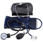 LotFancy Manual Blood Pressure Gauge , Aneroid Sphygmomanometer and Stethoscope Kit with Zipper Case, FDA Approved