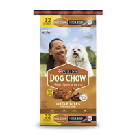 Purina Dog Chow Little Bites Real Chicken & Beef Adult Dry Dog Food - 32 lb. Bag