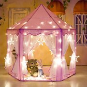 dd941b47ce02 Tents for Girls, Princess Castle Play House for Child, PCWQ133PK Outdoor  Indoor Portable Kids