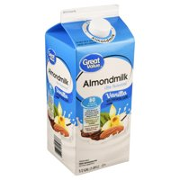 Great Value Vanilla Almond Milk, 64 oz