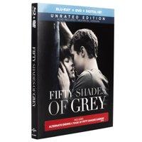 Fifty Shades Of Grey (Unrated) (Blu-ray + DVD + Digital HD)