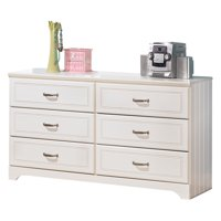 Signature Design by Ashley Lulu 6 Drawer Dresser with Mirror