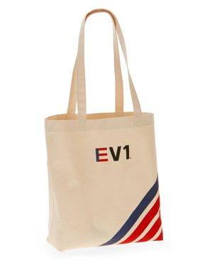 EV1 from Ellen DeGeneres Canvas Stripe Market Tote