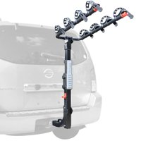 Allen Sports Premier 4-Bicycle Hitch Mounted Bike Rack Carrier, S-545