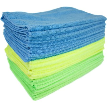 Zwipes Microfiber Cleaning Cloths, Multicolor,