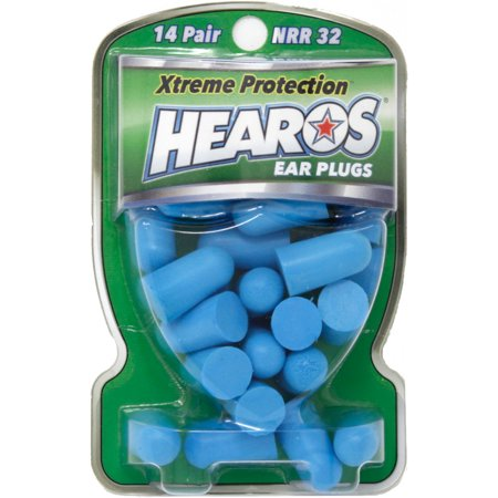 HEAROS Xtreme Protection, 14 Pairs, NRR 32 Ear