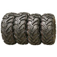 Set of 4 Wanda P341 ATV/UTV Tires 25x8-12 Front & 25x10-12 Rear - 10157/10159