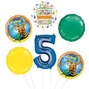 Aquaman 5th Birthday Party Supplies Balloon Bouquet Decorations