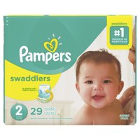 Pampers Swaddlers Diapers Size 2 29 Count